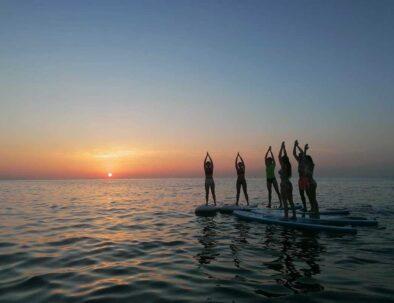 SUP Yoga Club Nàutic El Balís